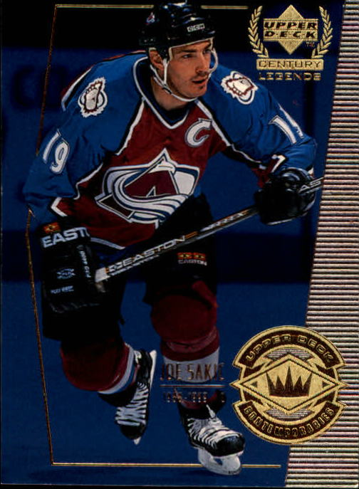 1999-00 Upper Deck Century Legends #65 Joe Sakic