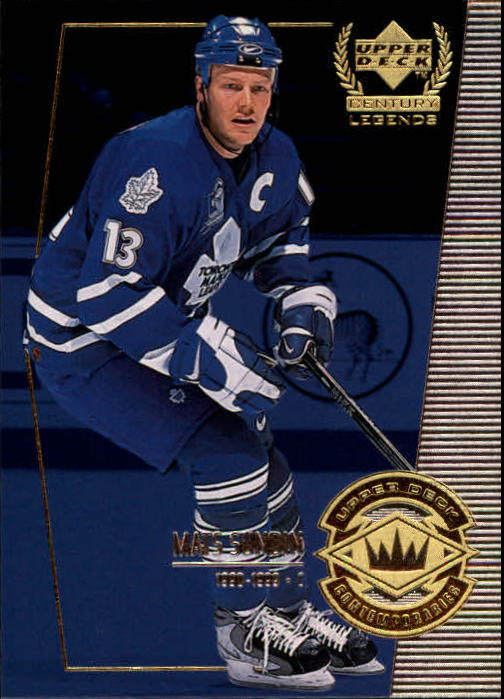 1999-00 Upper Deck Century Legends #66 Mats Sundin