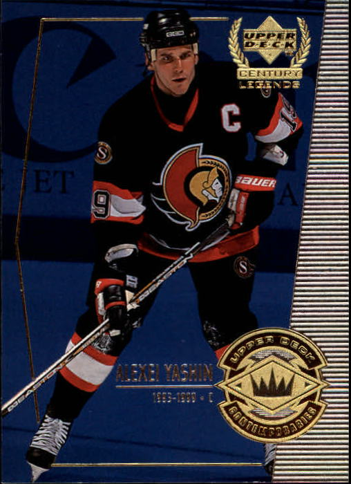 1999-00 Upper Deck Century Legends #68 Alexei Yashin