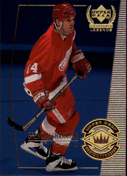 1999-00 Upper Deck Century Legends #70 Brendan Shanahan