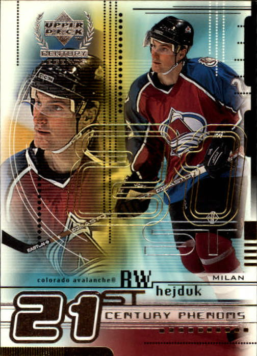 1999-00 Upper Deck Century Legends #75 Milan Hejduk