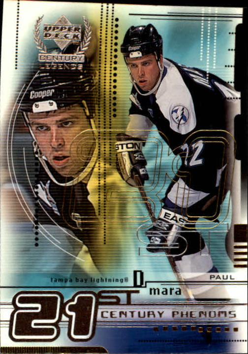 1999-00 Upper Deck Century Legends #76 Paul Mara