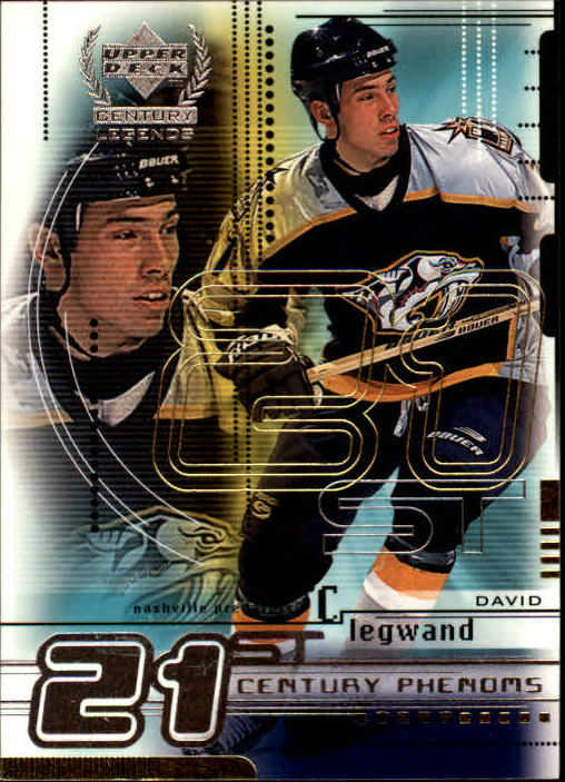1999-00 Upper Deck Century Legends #77 David Legwand