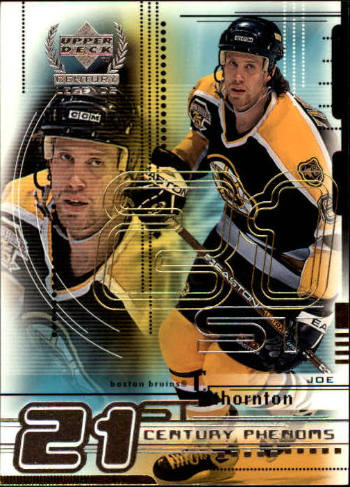 1999-00 Upper Deck Century Legends #78 Joe Thornton