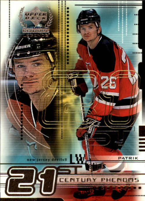 1999-00 Upper Deck Century Legends #80 Patrik Elias
