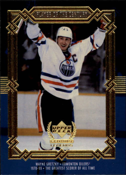 1999-00 Upper Deck Century Legends #82 Wayne Gretzky