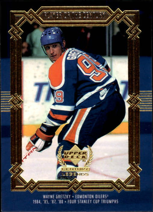 1999-00 Upper Deck Century Legends #83 Wayne Gretzky