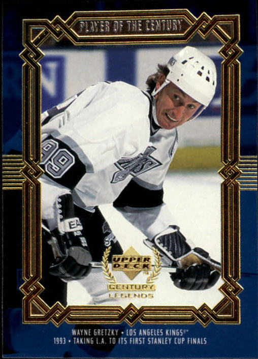 1999-00 Upper Deck Century Legends #86 Wayne Gretzky