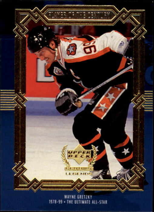 1999-00 Upper Deck Century Legends #87 Wayne Gretzky