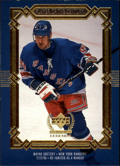 1999-00 Upper Deck Century Legends #89 Wayne Gretzky