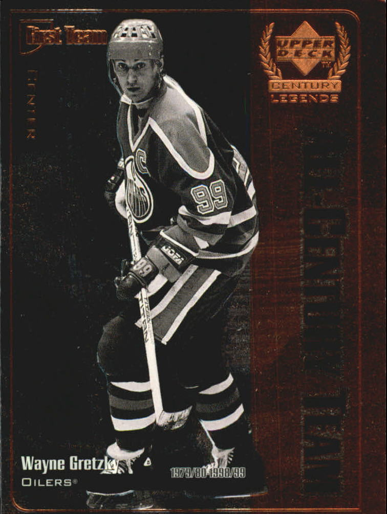 1999-00 Upper Deck Century Legends All Century Team #AC1 Wayne Gretzky