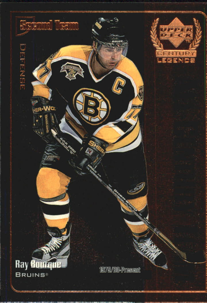 1999-00 Upper Deck Century Legends All Century Team #AC11 Ray Bourque