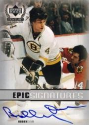 1999-00 Upper Deck Century Legends Epic Signatures #BO Bobby Orr