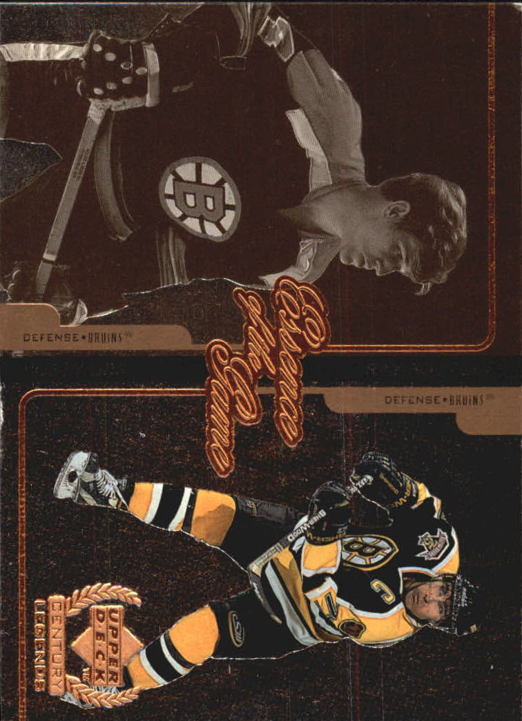 1999-00 Upper Deck Century Legends Essence of the Game #E2 Bobby Orr/Ray Bourque