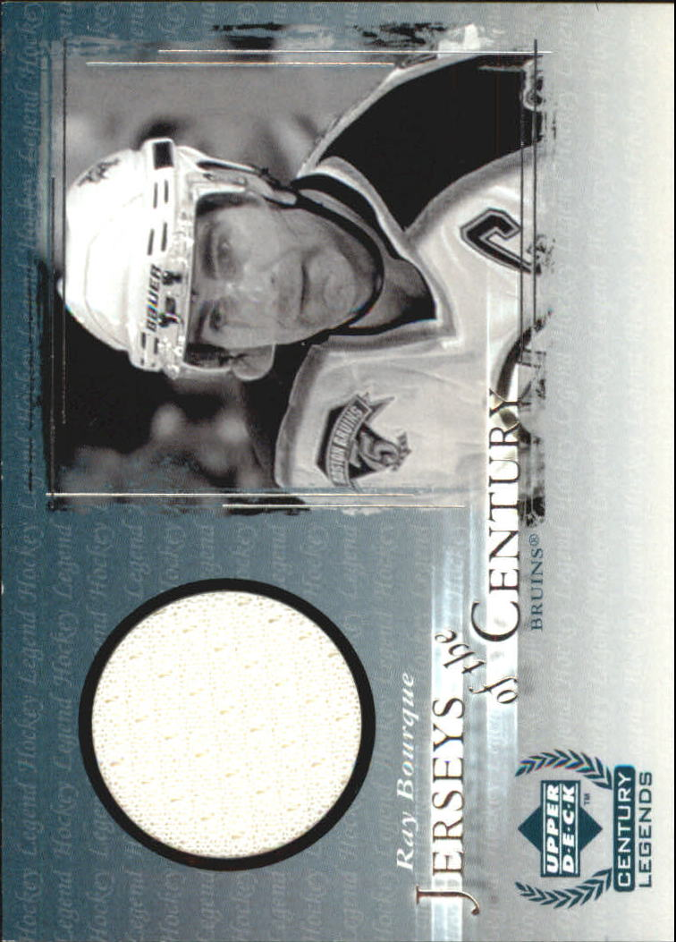 1999-00 Upper Deck Century Legends Jerseys of the Century #JC4 Ray Bourque