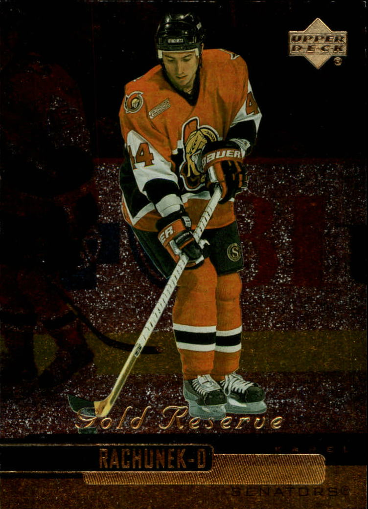 1999-00 Upper Deck Gold Reserve #345 Karel Rachunek PRO RC