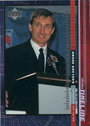 1999-00 Upper Deck Gretzky Exclusives #30 Wayne Gretzky