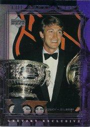 1999-00 Upper Deck Gretzky Exclusives #52 Wayne Gretzky
