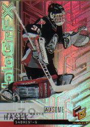 1999-00 Upper Deck HoloGrFx Ausome #6 Dominik Hasek