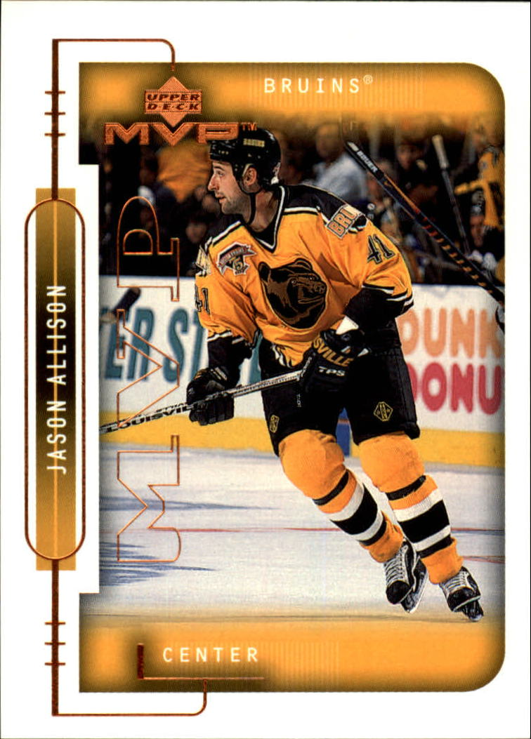 1999-00 Upper Deck MVP #15 Jason Allison