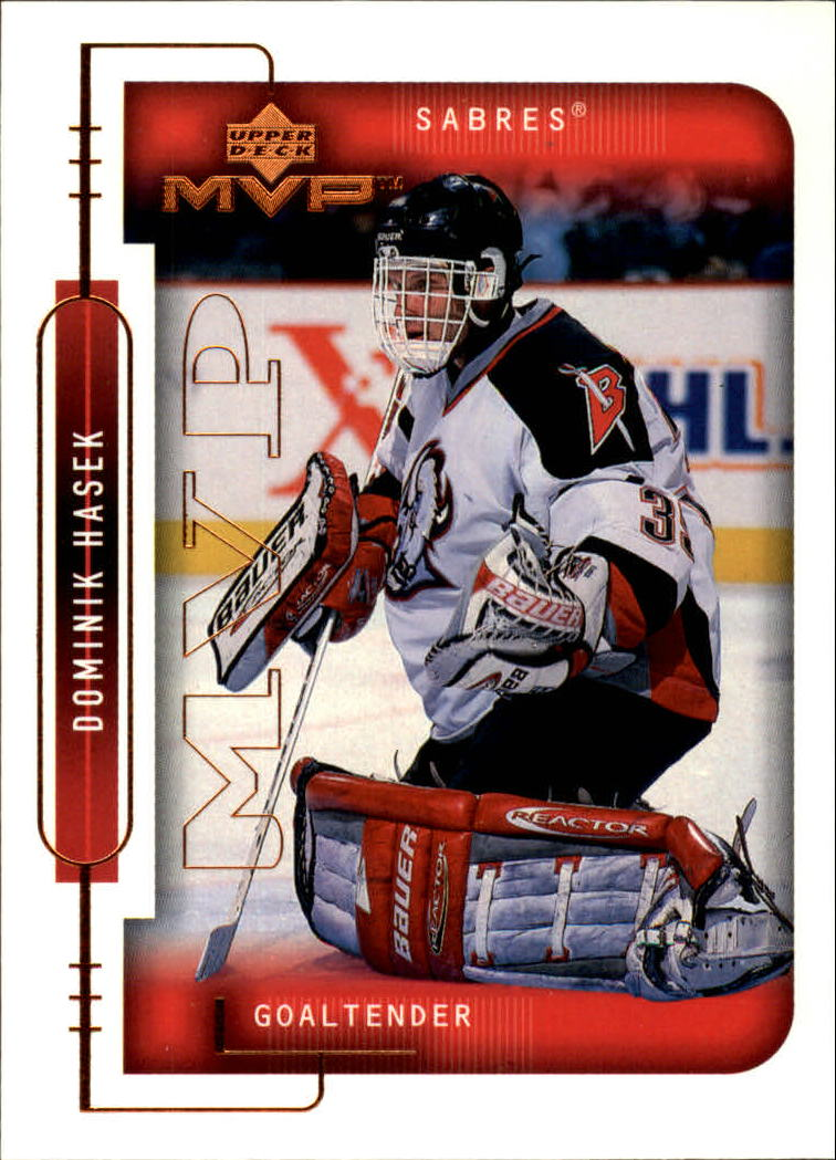1999-00 Upper Deck MVP #21 Dominik Hasek