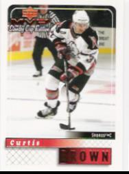 1999-00 Upper Deck MVP SC Edition #24 Curtis Brown