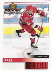 1999-00 Upper Deck MVP SC Edition #37 Jeff O'Neill
