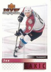 1999-00 Upper Deck MVP SC Edition #52 Joe Sakic