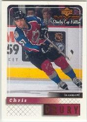 1999-00 Upper Deck MVP SC Edition #53 Chris Drury
