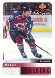 1999-00 Upper Deck MVP SC Edition #54 Peter Forsberg