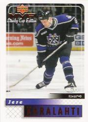 1999-00 Upper Deck MVP SC Edition #88 Jere Karalahti RC