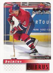 1999-00 Upper Deck MVP SC Edition #92 Dainius Zubrus