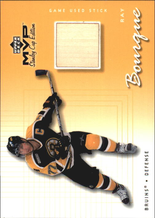 1999-00 Upper Deck MVP SC Edition Game-Used Souvenirs #GURB Ray Bourque