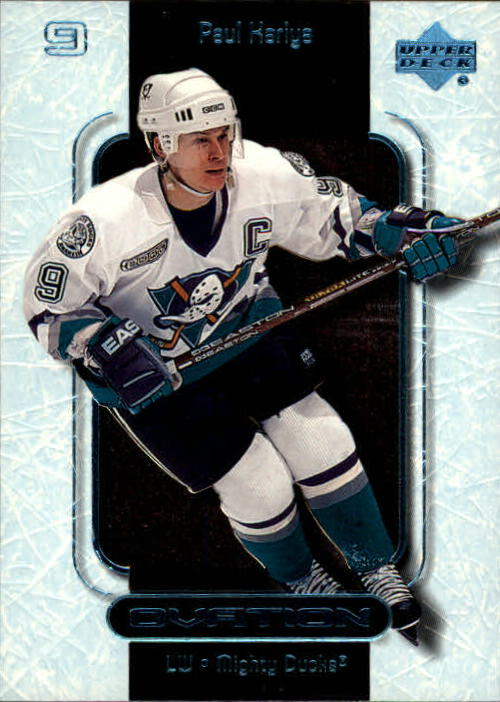1999-00 Upper Deck Ovation #1 Paul Kariya