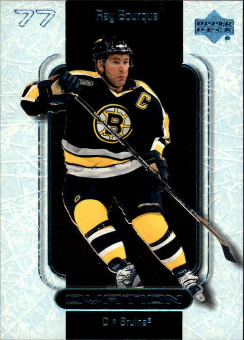 1999-00 Upper Deck Ovation #5 Ray Bourque
