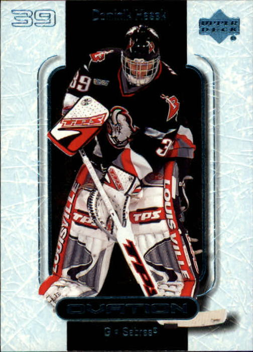 1999-00 Upper Deck Ovation #6 Dominik Hasek