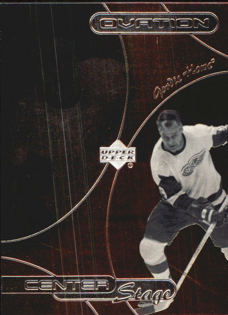 1999-00 Upper Deck Ovation Center Stage #CS6 Gordie Howe