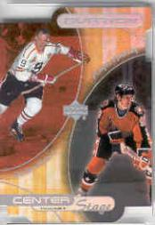 1999-00 Upper Deck Ovation Center Stage #CS21 W.Gretzky/G.Howe