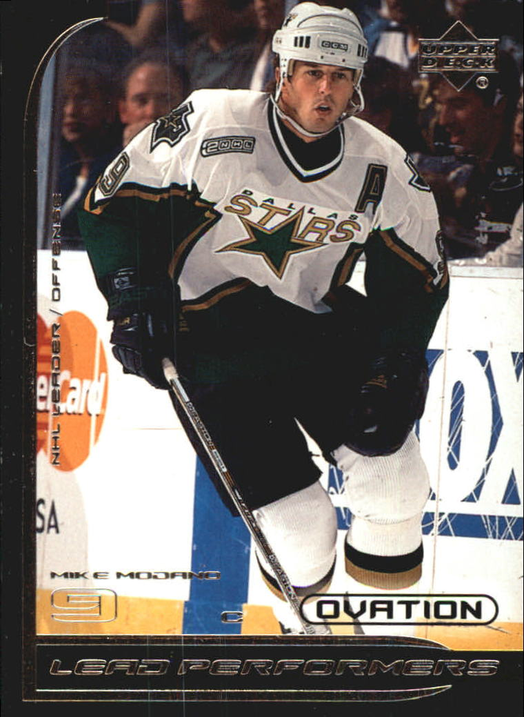 1999-00 Upper Deck Ovation Lead Performers #LP1 Mike Modano
