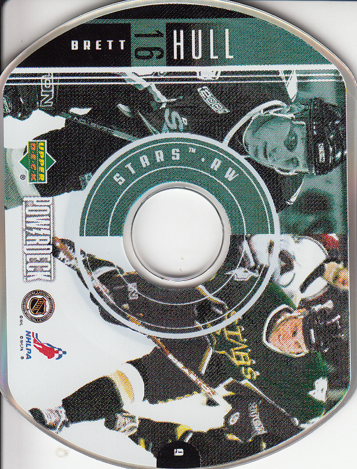 1999-00 Upper Deck PowerDeck #9 Brett Hull