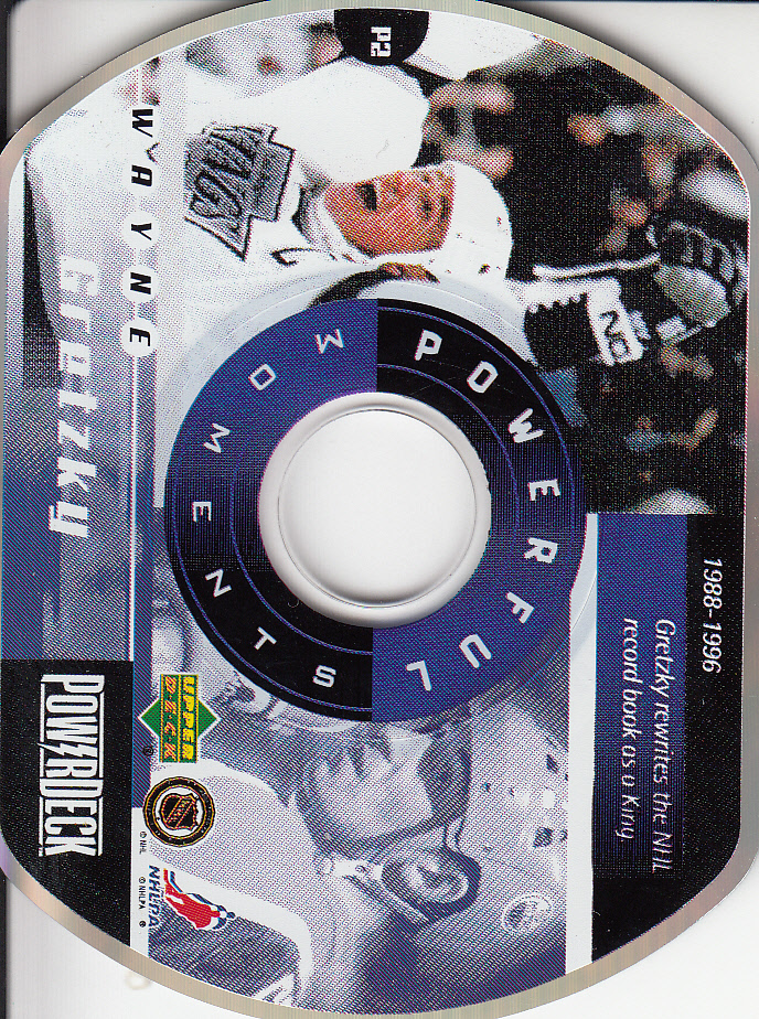 1999-00 Upper Deck PowerDeck Powerful Moments #PM2 Wayne Gretzky