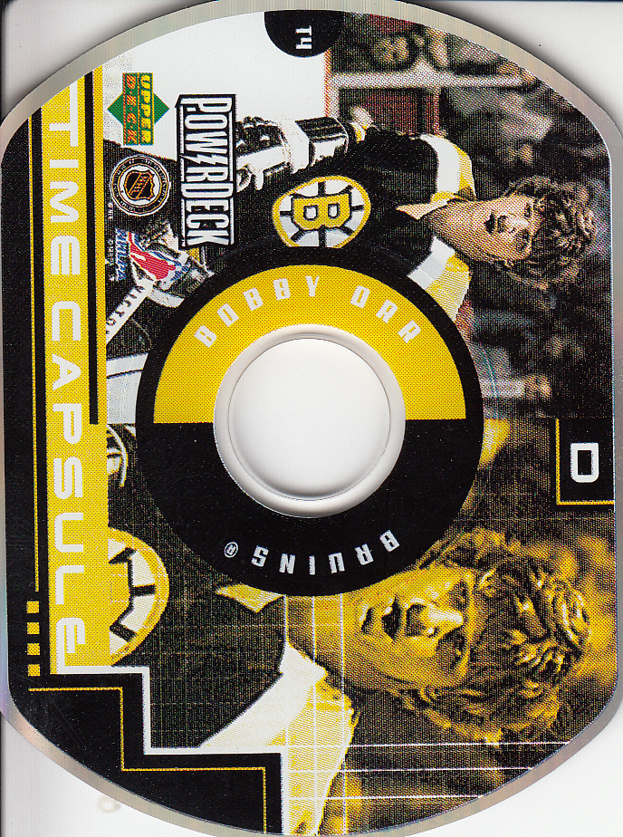 1999-00 Upper Deck PowerDeck Time Capsule #T4 Bobby Orr