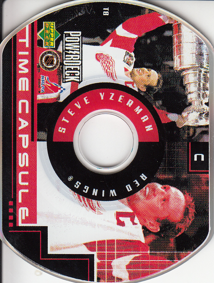 1999-00 Upper Deck PowerDeck Time Capsule #T8 Steve Yzerman