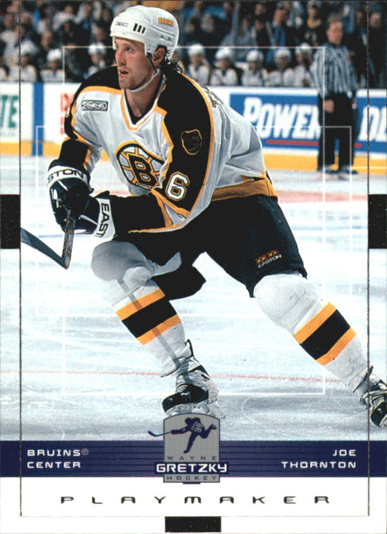 1999-00 Wayne Gretzky Hockey #16 Joe Thornton