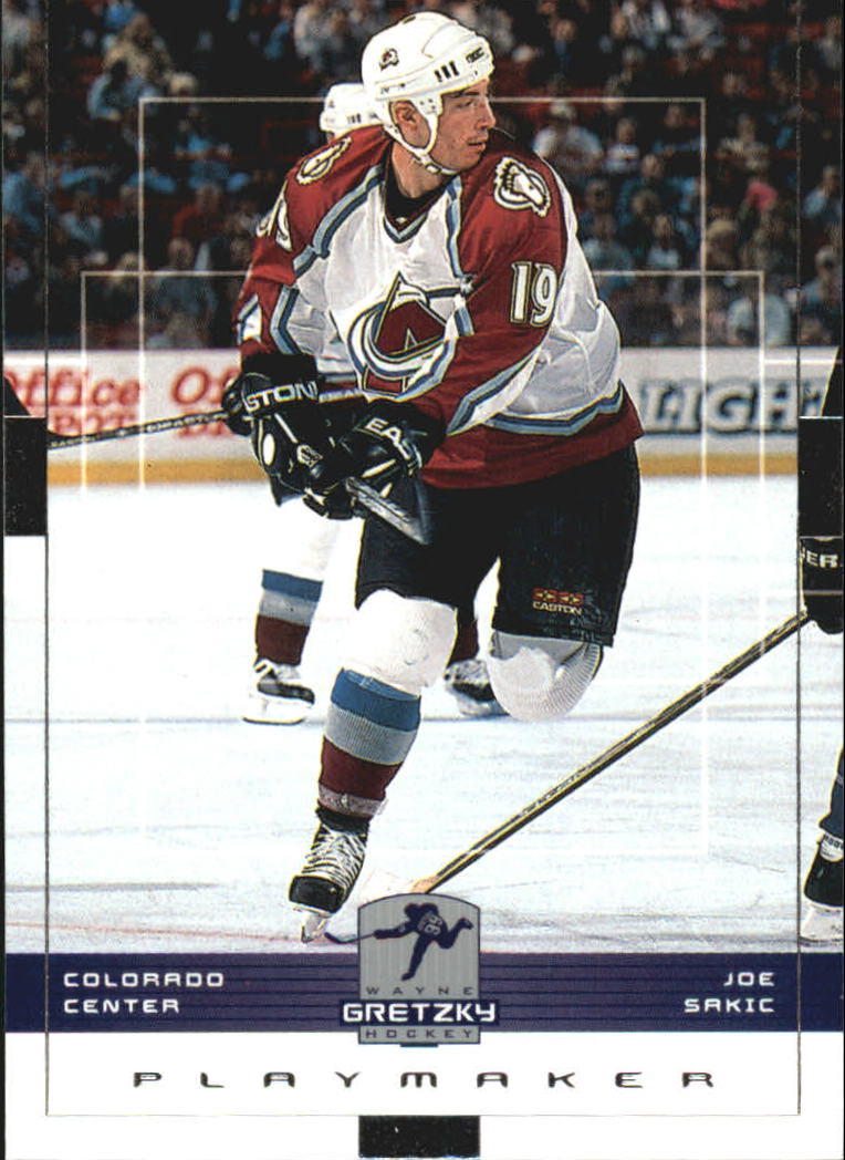 1999-00 Wayne Gretzky Hockey #46 Joe Sakic
