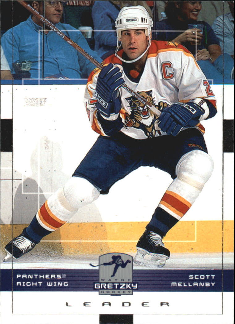 1999-00 Wayne Gretzky Hockey #77 Scott Mellanby