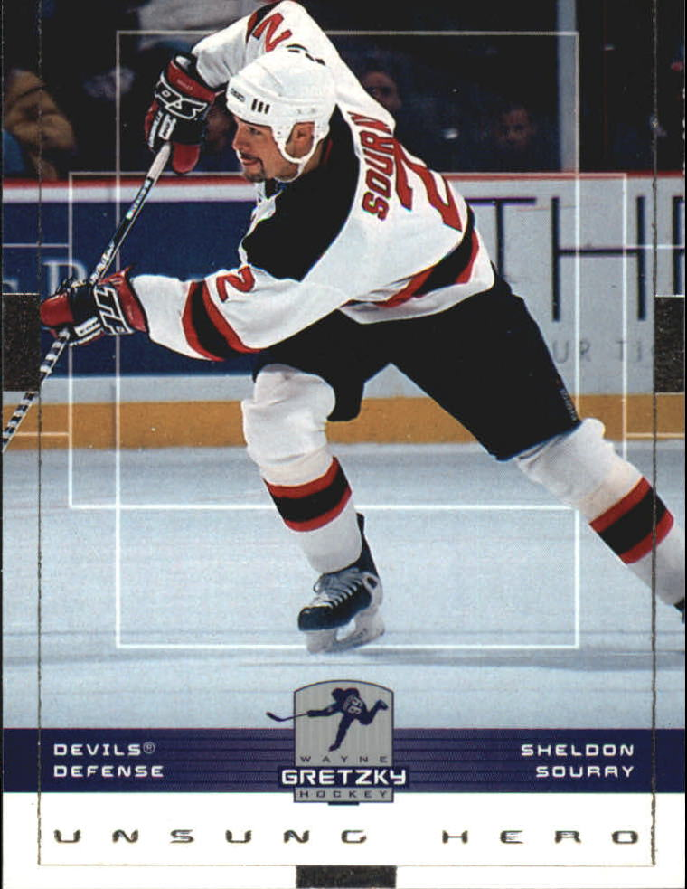 1999-00 Wayne Gretzky Hockey #97 Sheldon Souray