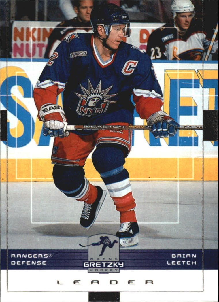 1999-00 Wayne Gretzky Hockey #114 Brian Leetch