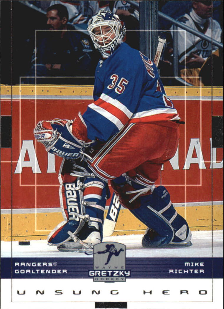 1999-00 Wayne Gretzky Hockey #115 Mike Richter