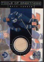 1999-00 Wayne Gretzky Hockey Tools of Greatness #TGMS Mats Sundin